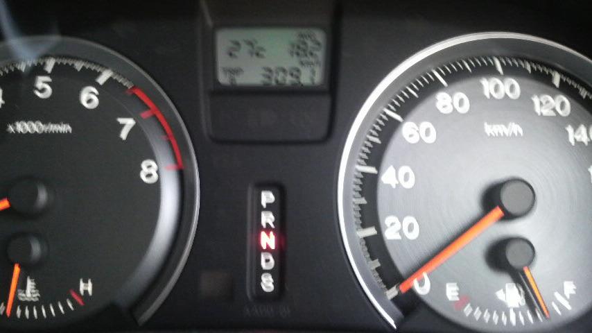 真夏日で燃費が伸びました〜♪