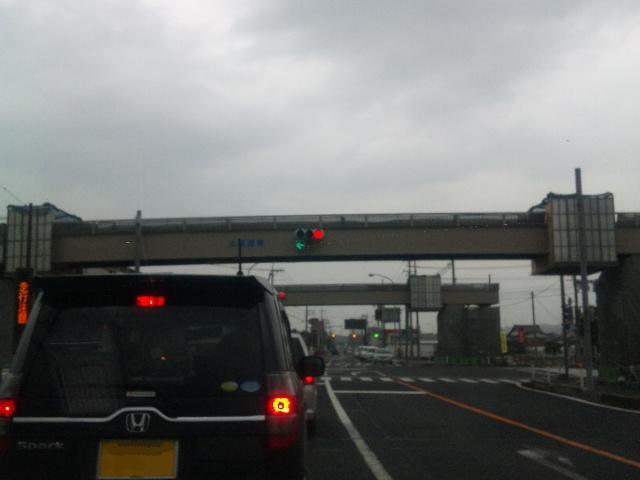陸橋も完成間近〜